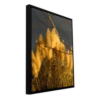 Brushstone Eagle Point Storm Light 3 Gallery Wrapped Floater-Framed Canvas Wall Art