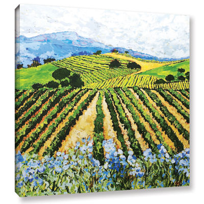 Brushstone Early Crop Gallery Wrapped Canvas WallArt