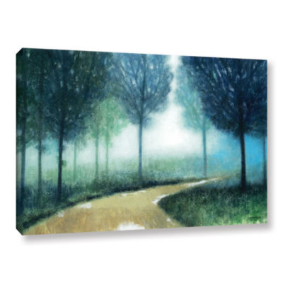 Brushstone Early Morning Mist Gallery Wrapped Canvas Wall Art