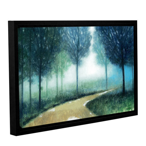 Brushstone Early Morning Mist Gallery Wrapped Floater-Framed Canvas Wall Art