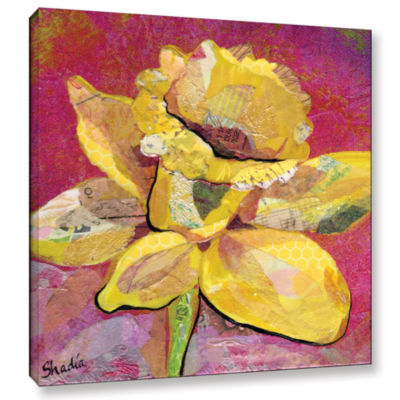 Brushstone Early Spring III Gallery Wrapped CanvasWall Art