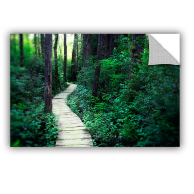 Brushstone Earth Path Removable Wall Decal