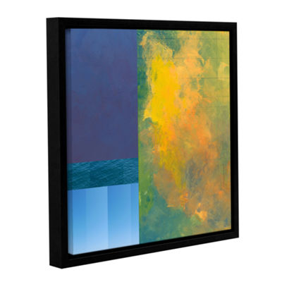 Brushstone Brushstone Earth Squares Ii Gallery Wrapped Floater-Framed Canvas Wall Art