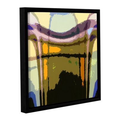 Brushstone Earth To Heaven Gallery Wrapped Floater-Framed Canvas Wall Art