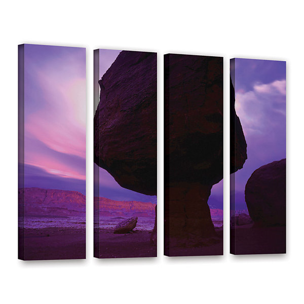 Brushstone Echo Cliffs Storm Light 4-pc. Gallery Wrapped Canvas Wall Art