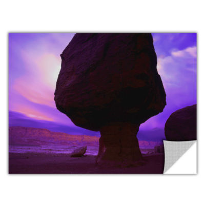 Brushstone Echo Cliffs Storm Light Removable WallDecal