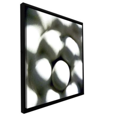 Brushstone Eggs Gallery Wrapped Floater-Framed Canvas Wall Art