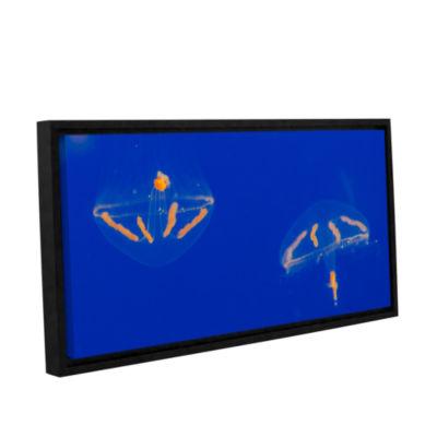 Brushstone Brushstone Elegant Jelly 1 Gallery Wrapped Floater-Framed Canvas Wall Art