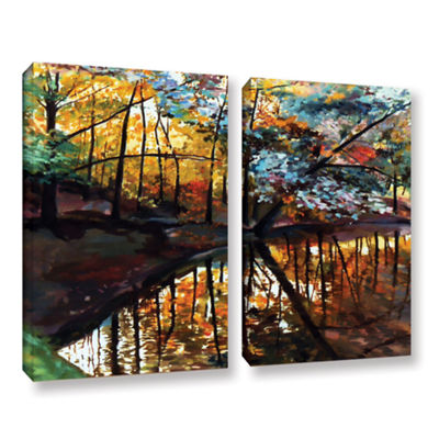 Brushstone Brushstone Elysium 2-pc. Gallery Wrapped Canvas Wall Art