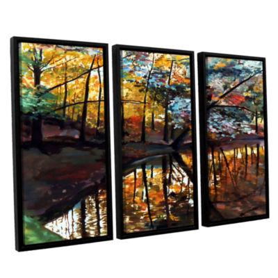 Brushstone Brushstone Elysium 3-pc. Floater FramedCanvas Wall Art