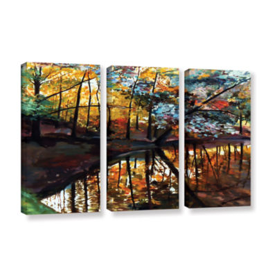 Brushstone Brushstone Elysium 3-pc. Gallery Wrapped Canvas Wall Art