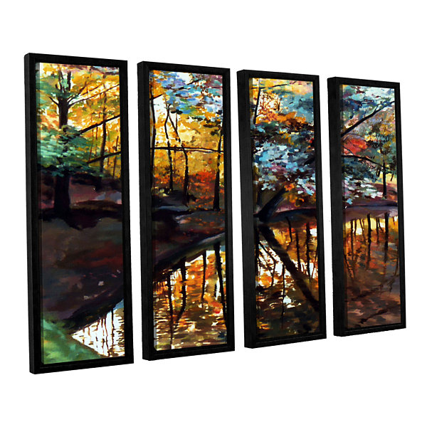 Brushstone Brushstone Elysium 4-pc. Floater FramedCanvas Wall Art