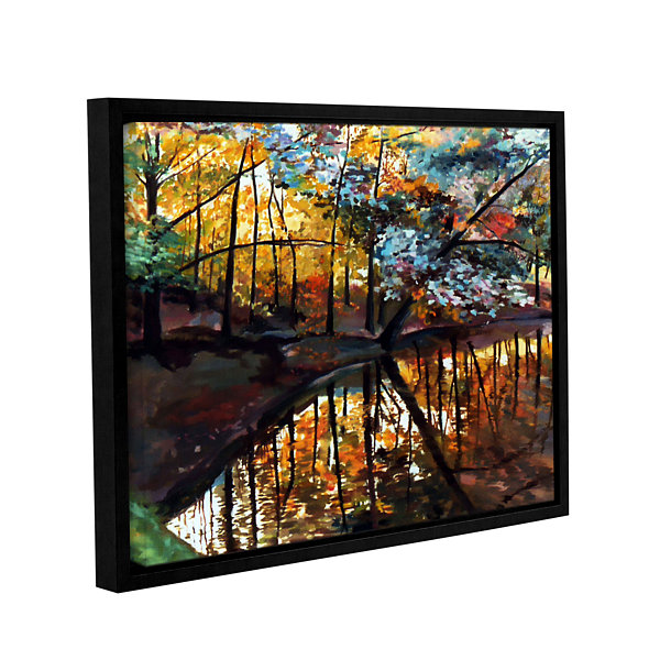 Brushstone Brushstone Elysium Gallery Wrapped Floater-Framed Canvas Wall Art