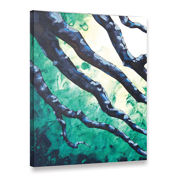 Brushstone Brushstone Emerald Gallery Wrapped Canvas Wall Art