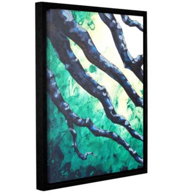 Brushstone Brushstone Emerald Gallery Wrapped Floater-Framed Canvas Wall Art
