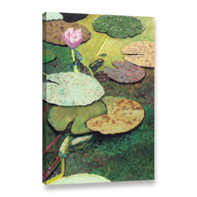 Brushstone Brushstone Emerald Pond Gallery WrappedCanvas Wall Art