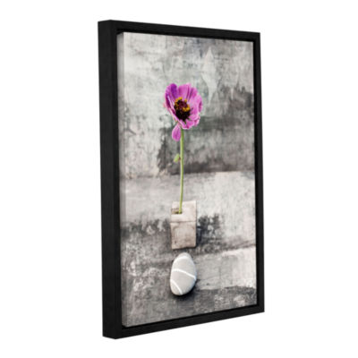 Brushstone Emerging Beauty Gallery Wrapped Floater-Framed Canvas Wall Art