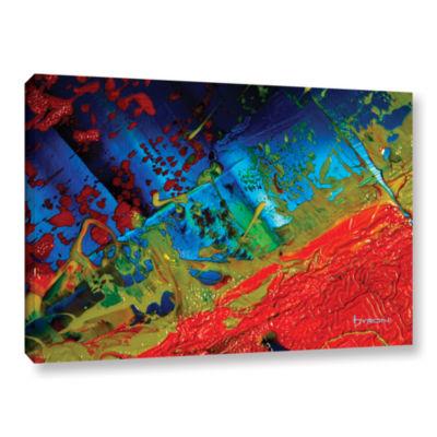 Brushstone Brushstone Emotional Chaos Gallery Wrapped Canvas Wall Art
