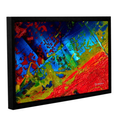 Brushstone Brushstone Emotional Chaos Gallery Wrapped Floater-Framed Canvas Wall Art