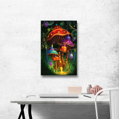 Brushstone Enchanted Evening Gallery Wrapped Canvas Wall Art