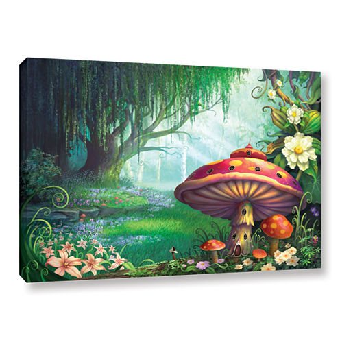 Brushstone Enchanted Forest Gallery Wrapped CanvasWall Art