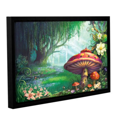Brushstone Enchanted Forest Gallery Wrapped Floater-Framed Canvas Wall Art