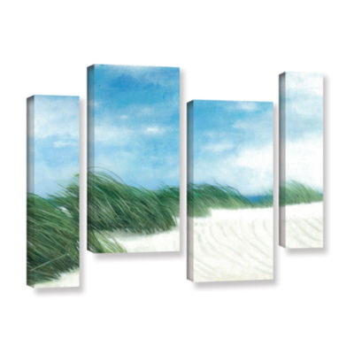 Brushstone Dune Grasses 4-pc. Gallery Wrapped Staggered Canvas Wall Art