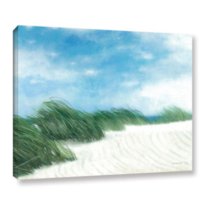Brushstone Dune Grasses Gallery Wrapped Canvas Wall Art