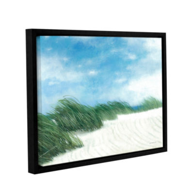 Brushstone Dune Grasses Gallery Wrapped Floater-Framed Canvas Wall Art