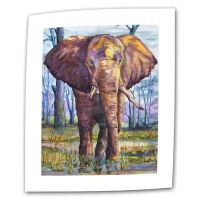 Brushstone Brushstone Elephant Canvas Wall Art