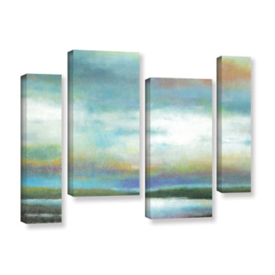 Brushstone Dreamer's Sunset 4-pc. Gallery WrappedStaggered Canvas Wall Art