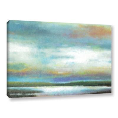 Brushstone Dreamer's Sunset Gallery Wrapped CanvasWall Art
