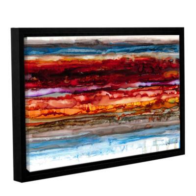 Brushstone Dreamer's Sunset Gallery Wrapped Floater-Framed Canvas Wall Art