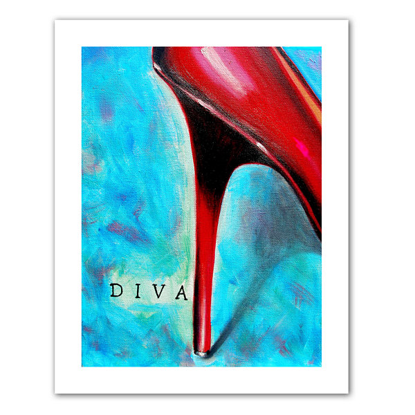 Brushstone Diva Canvas Wall Art