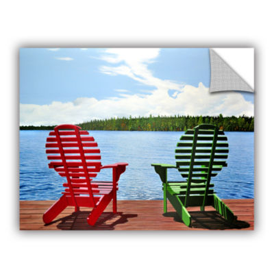 Brushstone Dockside Removable Wall Decal
