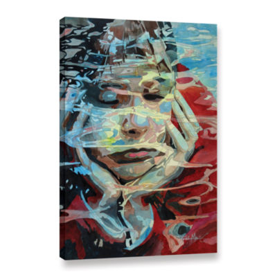 Brushstone Dreaming Gallery Wrapped Canvas Wall Art