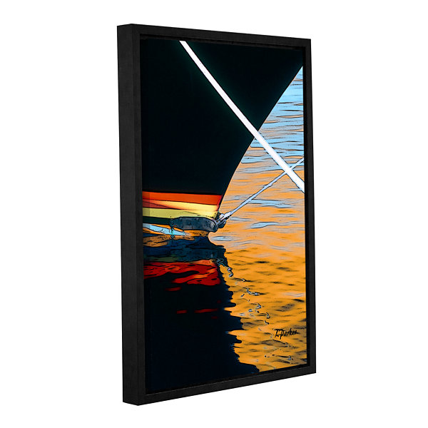 Brushstone Docked Gallery Wrapped Floater-Framed Canvas Wall Art