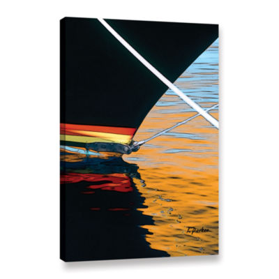 Brushstone Docked Gallery Wrapped Canvas Wall Art
