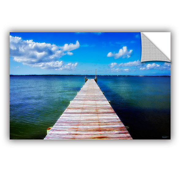 Brushstone Empty Pier Removable Wall Decal
