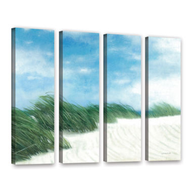Brushstone Dune Grasses 4-pc. Gallery Wrapped Canvas Wall Art