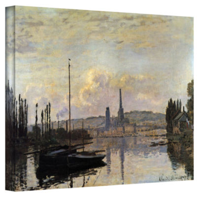Brushstone Dock Gallery Wrapped Canvas Wall Art