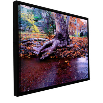 Brushstone Aravaipa Canyon Creek Gallery Wrapped Framed Canvas Wall Art
