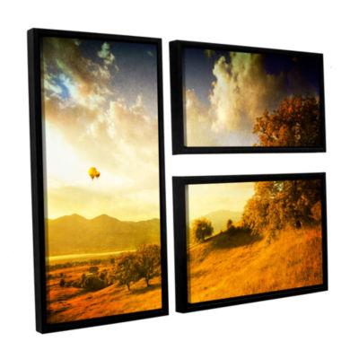 Brushstone Autumn Vision 3-pc. Floater Framed Canvas Wall Art