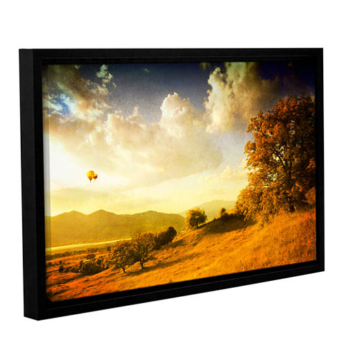 Brushstone Autumn Vision Gallery Wrapped Floater-Framed Canvas Wall Art
