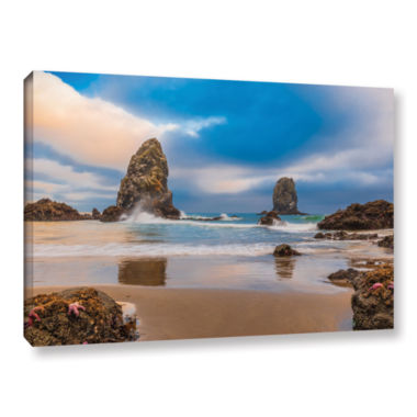 Brushstone Aren'T Starfish Supposed To Be Underwater Gallery Wrapped Canvas Wall Art
