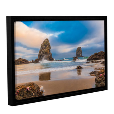 Brushstone Aren'T Starfish Supposed To Be Underwater Gallery Wrapped Framed Canvas Wall Art