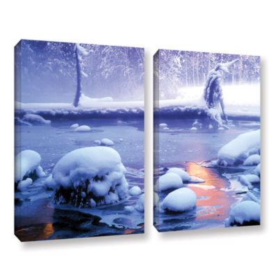 Brushstone Artist Light 2-pc. Gallery Wrapped Canvas Wall Art