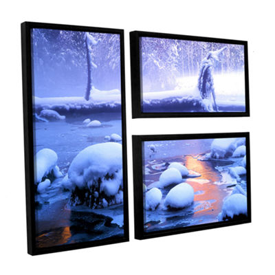 Brushstone Artist Light 3-pc. Framed Canvas Wall Art