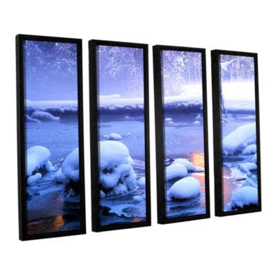 Brushstone Artist Light 4-pc. Framed Canvas Wall Art