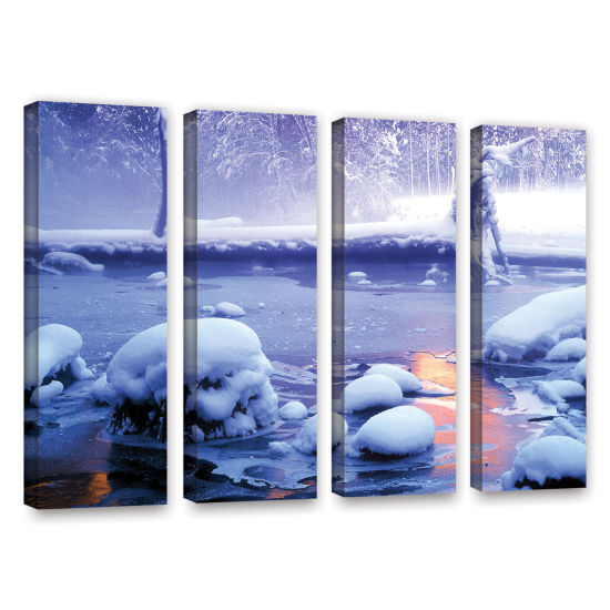 Brushstone Artist Light 4-pc. Gallery Wrapped Canvas Wall Art